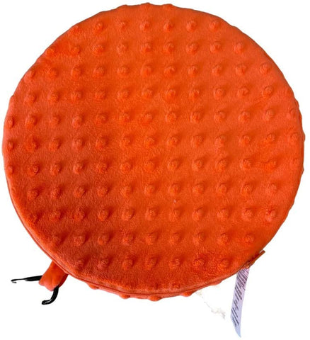 FocusPad Seat Textured Orange Calming Cushion