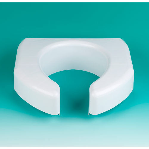Elevated Toilet Seat, Basic Open Front Maddak specialneedsessentials