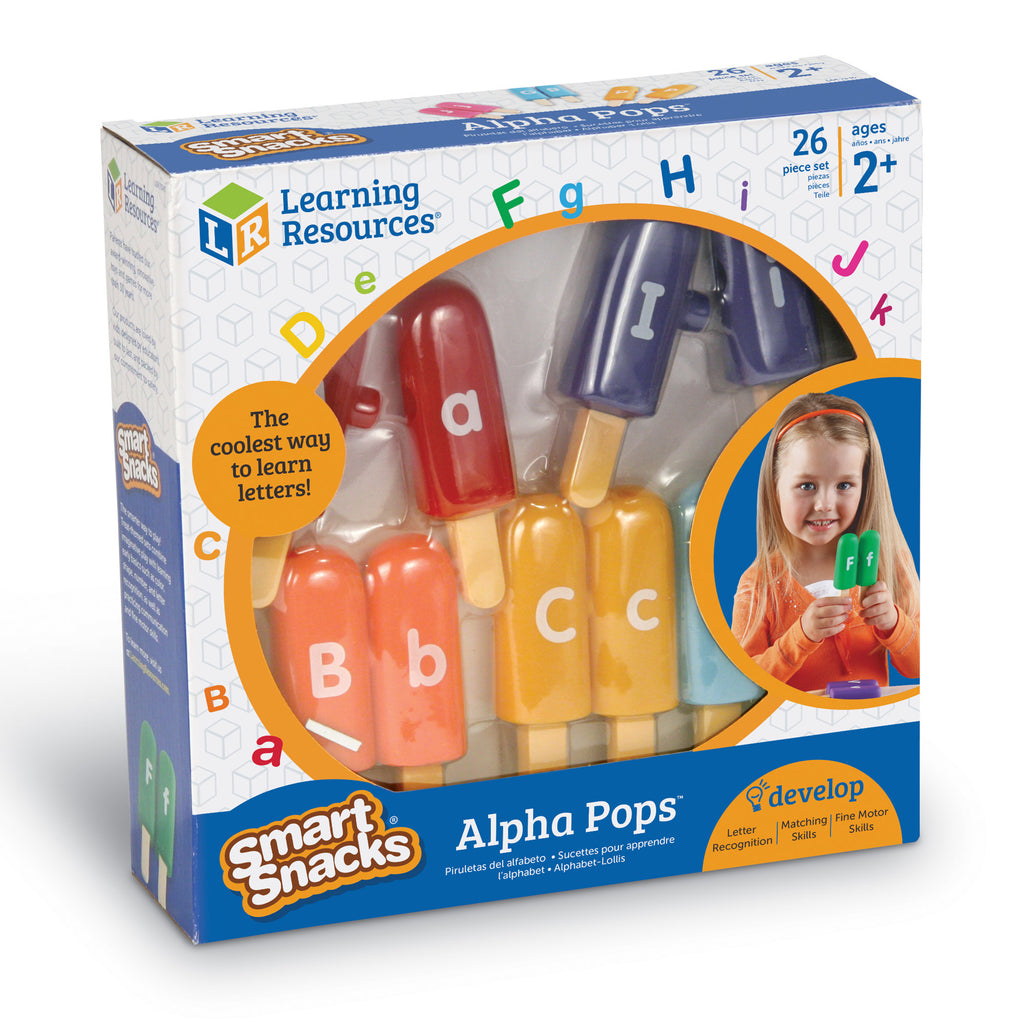 Smart Snacks Alpha Pops Learning Resources specialneedsessentials