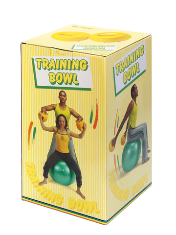 Gymnic Training Bowls , Adjustable Weight with Water/Sand (2 count) Gymnic Special Needs Essentials