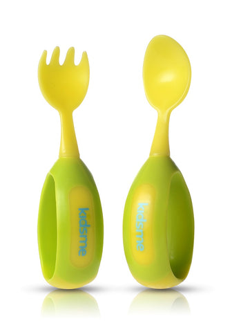 Kidsme Toddler Spoon and Fork Set Kidsme specialneedsessentials