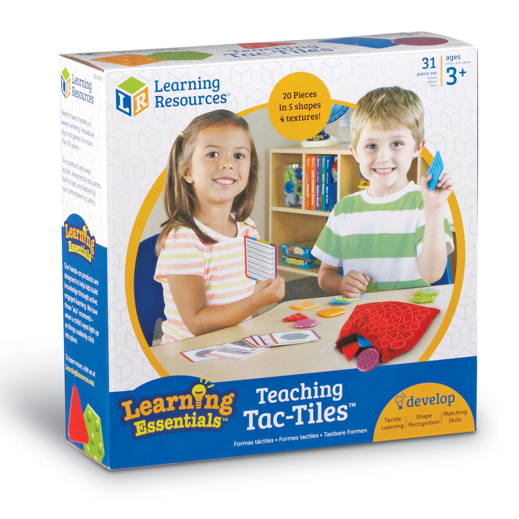 Learning Resources Teaching Tac-Tiles Learning Essentials specialneedsessentials