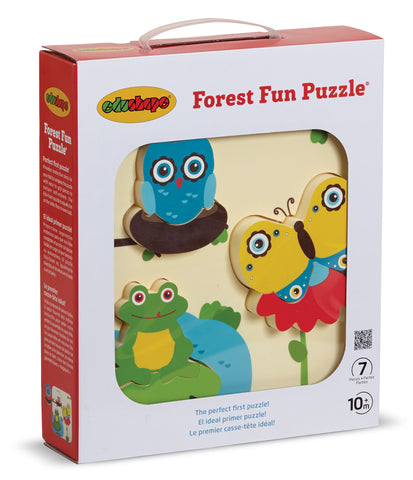 First Puzzle - Fun Forest Edushape specialneedsessentials