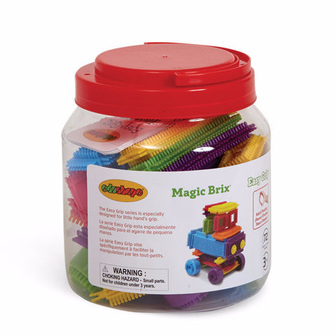 Magic Brix - Building Blocks 72 PC Edushape specialneedsessentials