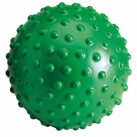 Gymnic Aku Ball is a therapy tool used for massages, sensory stimulation and motor strengthening.