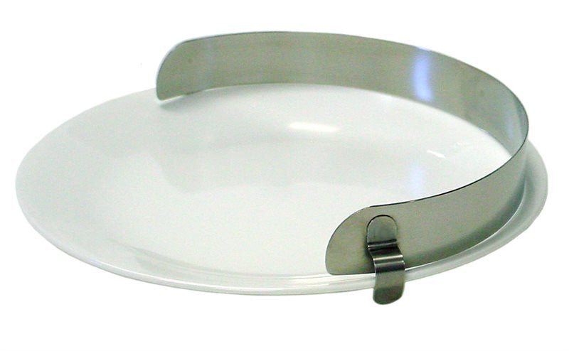 Stainless Steel Plate Guard (food bumper) Kinsman specialneedsessentials
