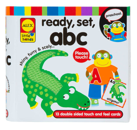Ready, Set, Touch & Feel Cards - ABC Alex specialneedsessentials