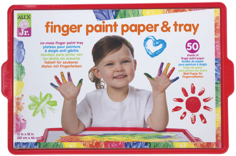 Finger Paint Paper & Tray Alex Jr. specialneedsessentials