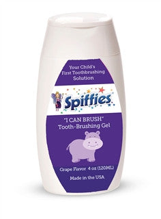 Spiffies Flavored Tooth Gel (Xylitol Toothpaste) Spiffies specialneedsessentials