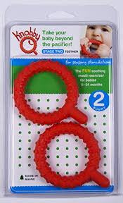 Knobby Q's (2 pack) Chewy Tubes specialneedsessentials