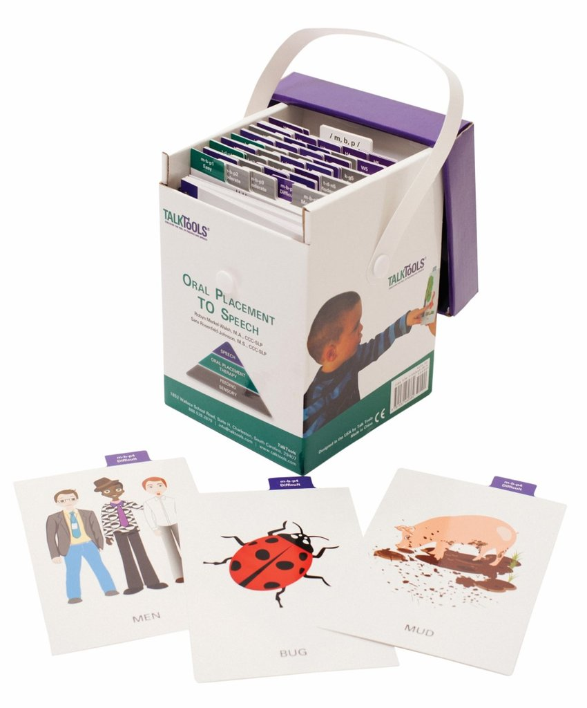 Oral Placement to Speech Kit (OPT-S) Articulation Card Set TalkTools specialneedsessentials