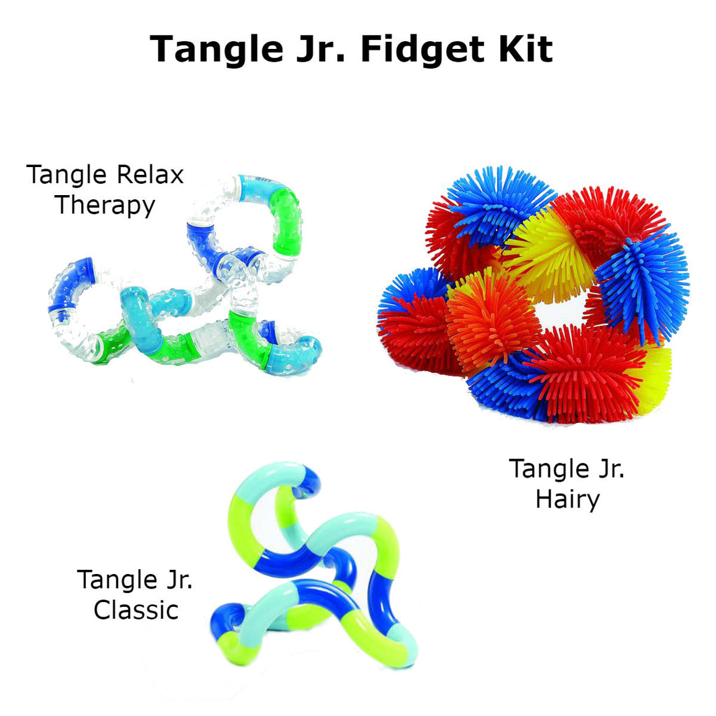Tangle Jr. Fidget Kit (Bundle of 3 Tangles) Special Needs Essentials specialneedsessentials