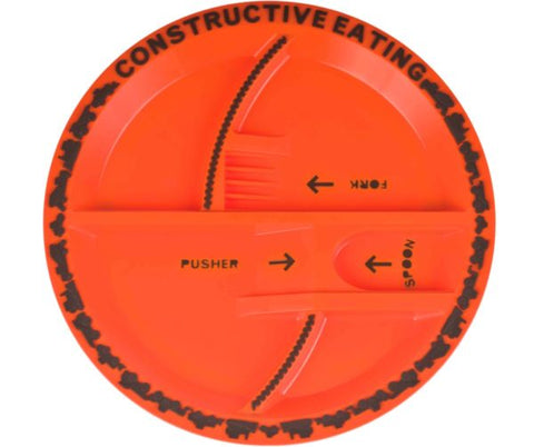Construction Plate by Constructive Eating, Inc Constructive Eating specialneedsessentials