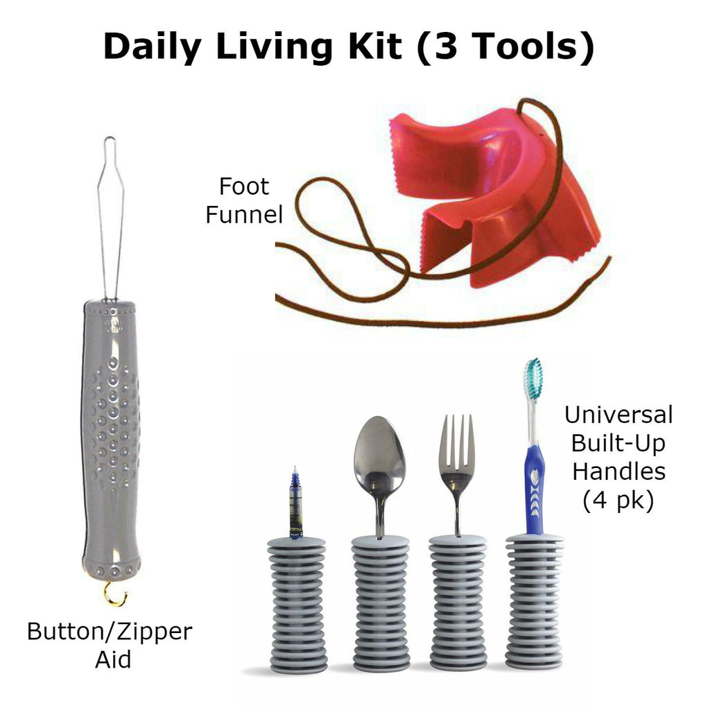 The Daily Living Kit (3 Tools) Special Needs Essentials specialneedsessentials