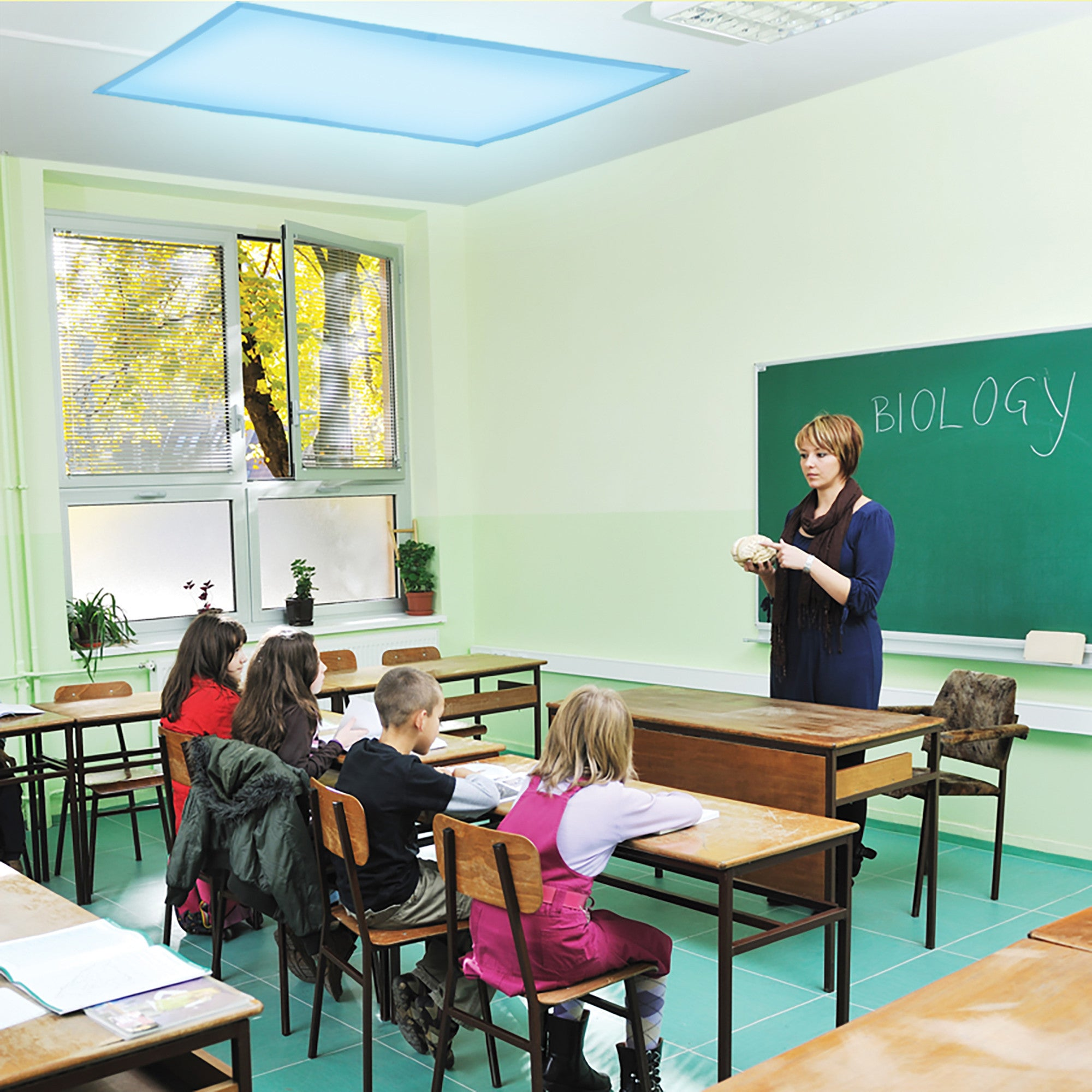 Classroom Design For Living And Learning With Autism ~ Fluorescent light filters set of special needs