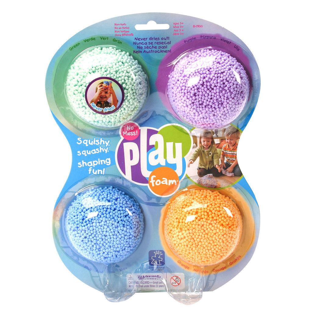 Playfoam® Classic 4-Pack is great for sensory seekers or any child in preschool or up.