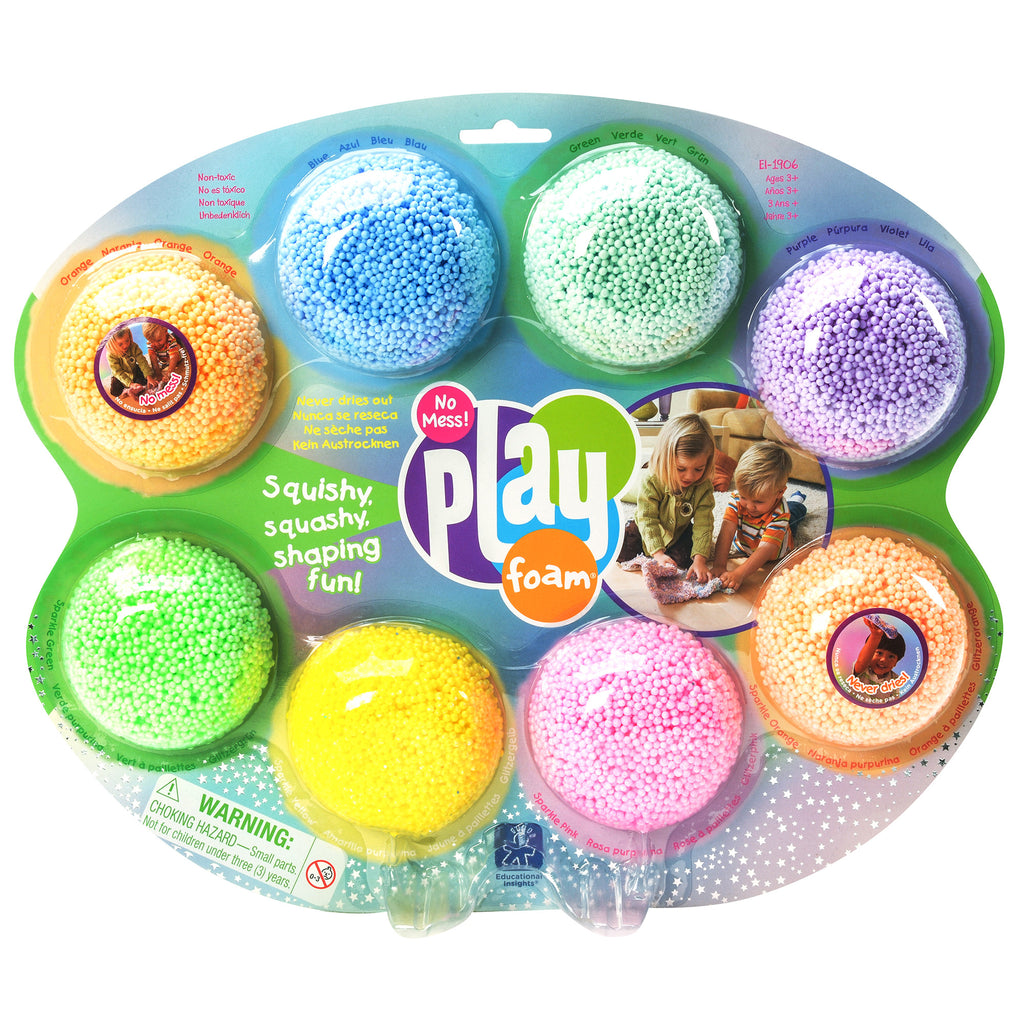 Playfoam Combo 8 Pack is a sensory tool perfect for the classroom or home crafts.