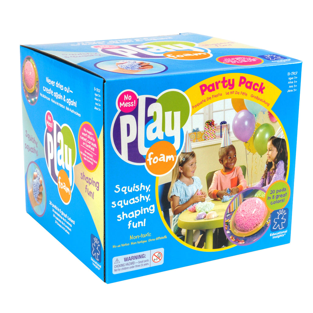 Playfoam® Party Pack (20 Pods) are ideal for classrooms, OT's supplies, or at home arts and crafts.