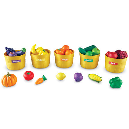 Farmer's Market Color Sorting Set Learning Resources Special Needs Essentials