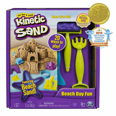 Beach Day Fun Playset Kinetic Sand Toysmith specialneedsessentials