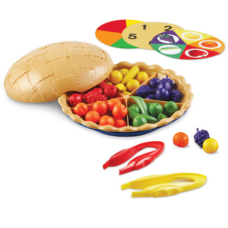 Super Sorting Pie (68 piece set) Learning Resources specialneedsessentials
