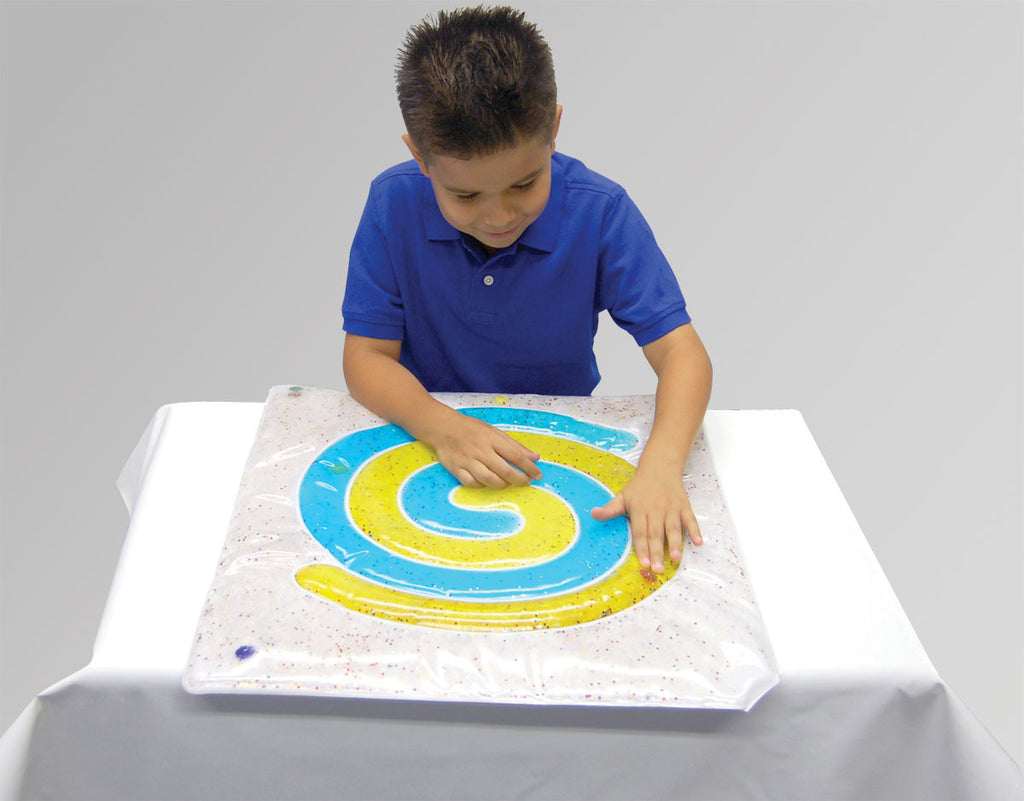 Skil-Care Spiral Gel Pad (Blue and Yellow) Skil-Care Special Needs Essentials