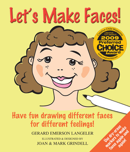 Let's Make Faces! Have Fun Drawing Different Faces for Different Feelings - Gerard Emerson Langeler Future Horizons specialneedsessentials