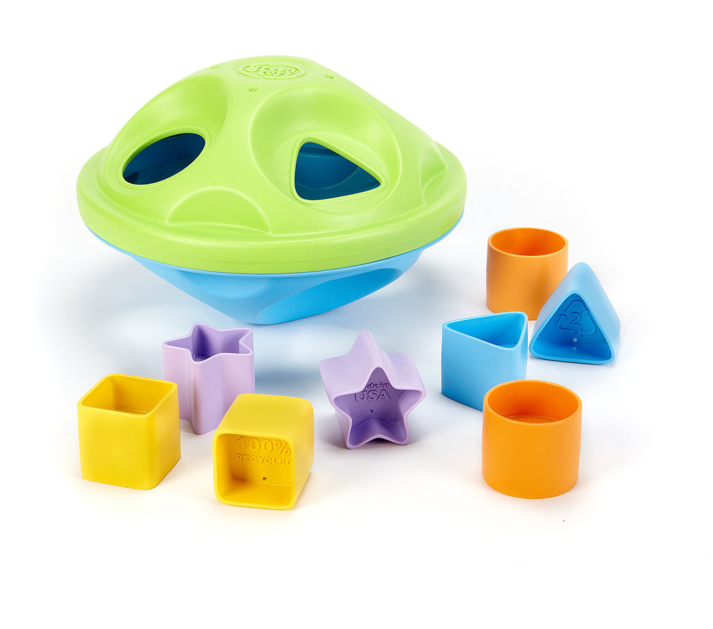 Green Toys Shape Sorter Green Toys specialneedsessentials