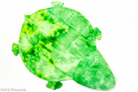 Turtle Shaped Weighted Blanket Covered in Comfort Special Needs Essentials