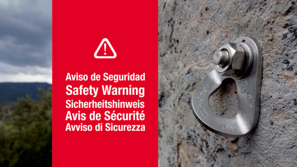 Fixe Safety Warning