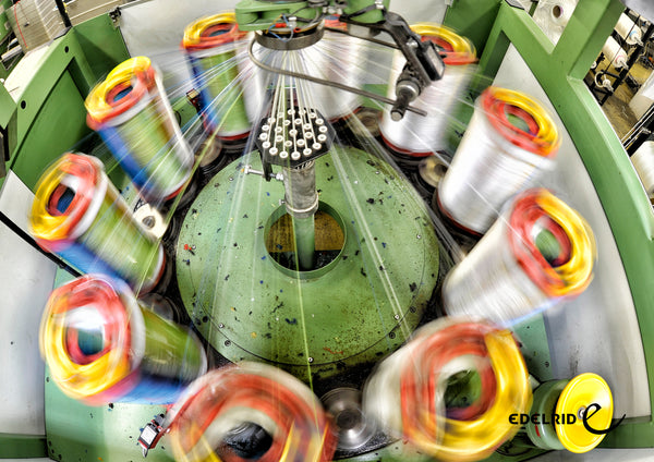 Take a look behind the scenes how Edelrid ropes are made