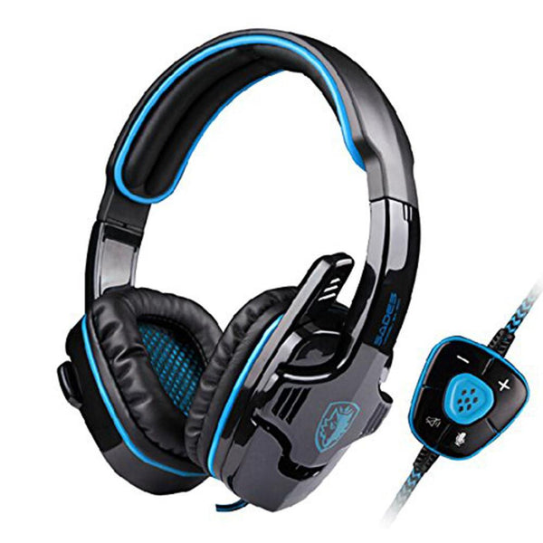 IZ Sounds Dolphin ZZX2's Professional 7.1 Surround Sound USB Noice Cancelling Wired Gaming Headset with Mic for PC Gaming
