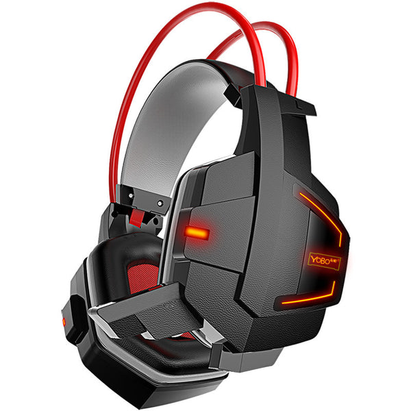 TTLYFE New Ghost Glowing PC Gaming Headphones with MIC volume control