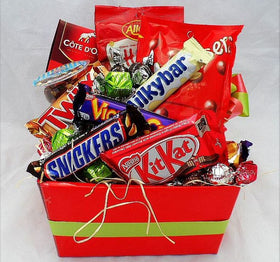 chocolate and sweet box