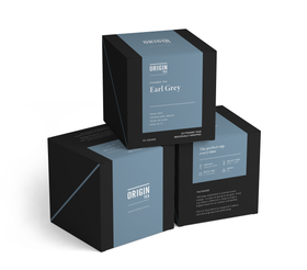 ORIGIN TEA- EARL GREY- PYRAMID TEA BAGS