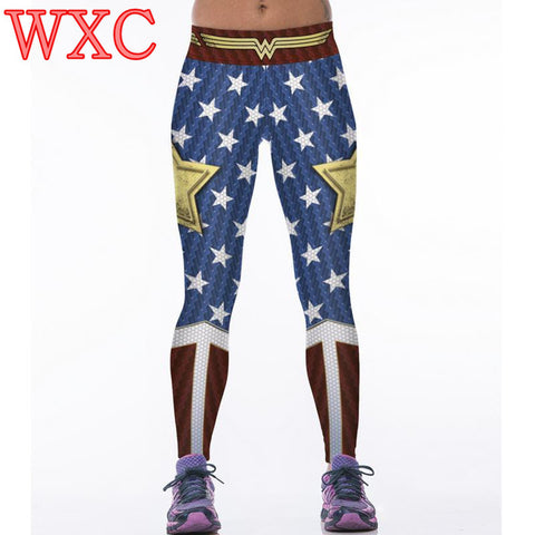 Wonder Woman Cosplay Leggings
