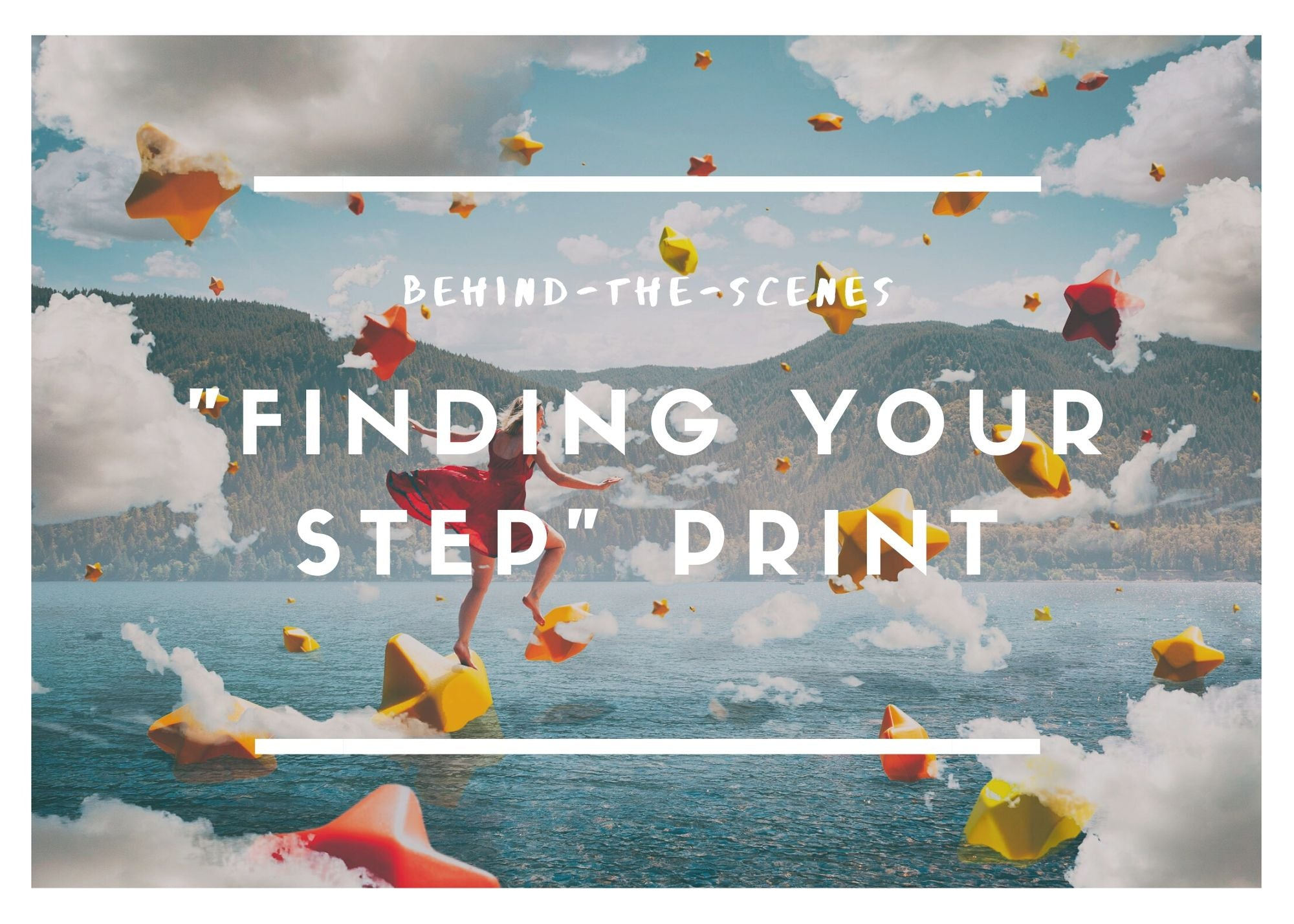 "Behind-the-Scenes of My Art: ""Finding Your Step"""