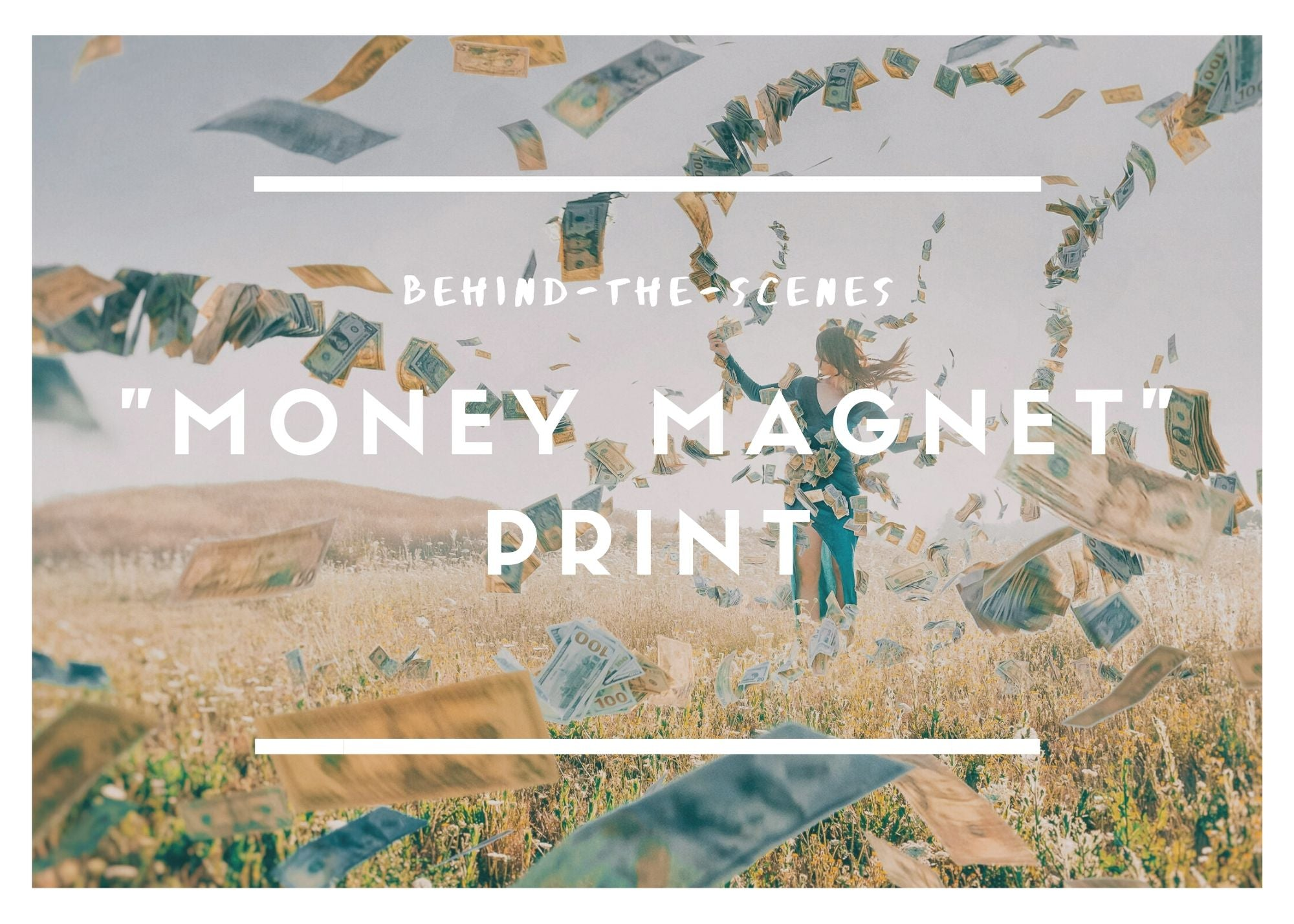 "A Behind-the-Scenes Look at My Artwork: ""Money Magnet"" Print"
