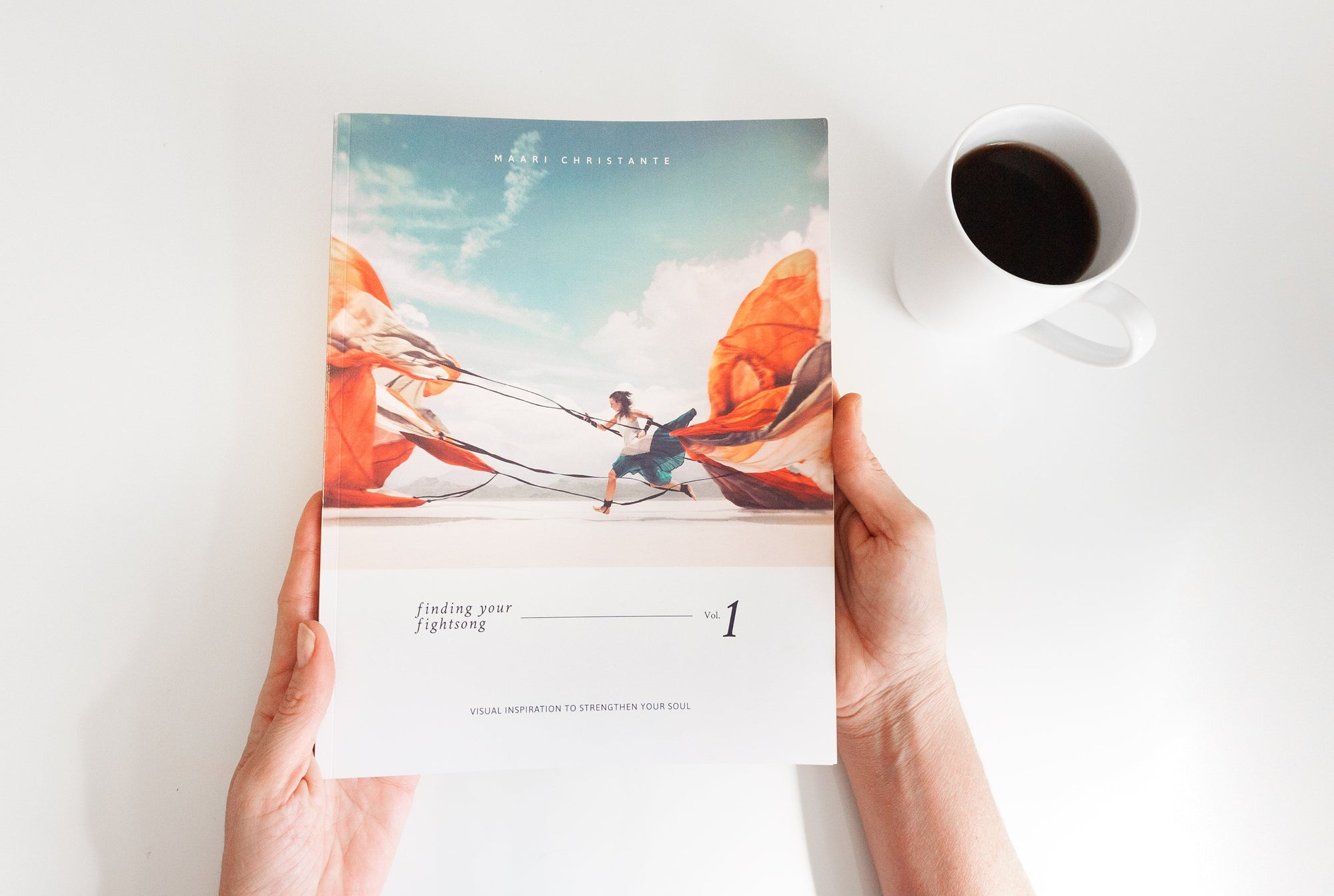 "PRE-ORDER BONUS PACKAGE: ""Finding Your Fightsong"" Vol. 1 - Coffee Table Book"