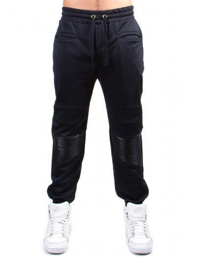 Cooper 9 - Black Tie Jogger in Black