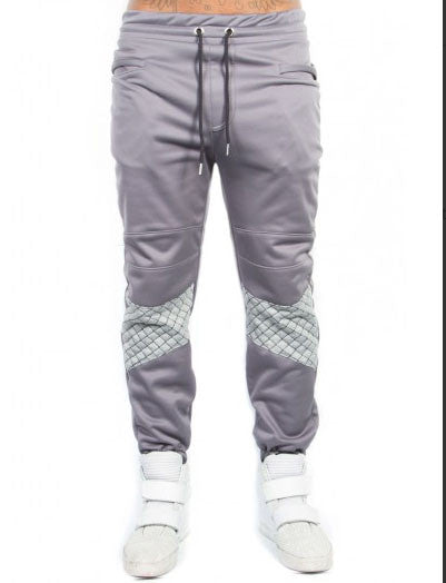 Cooper 9 - Black Tie Jogger in Gray