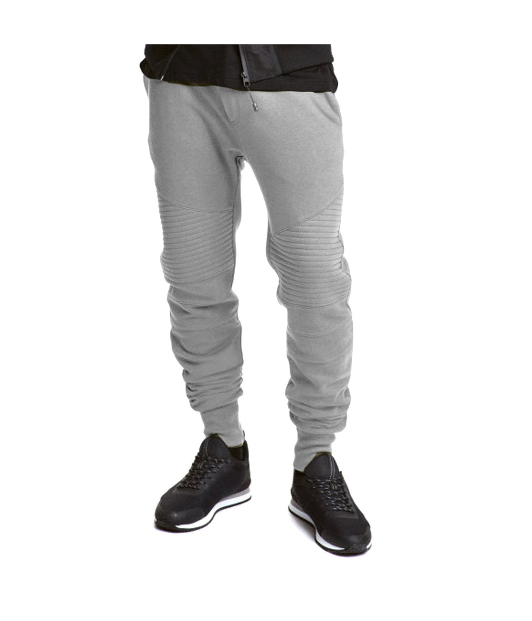NYSOM - Biker Style Jogger Sweatpants