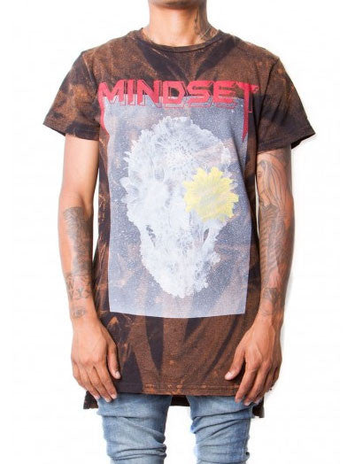 Cooper 9 - Mindset Bleached Elongated T-Shirt