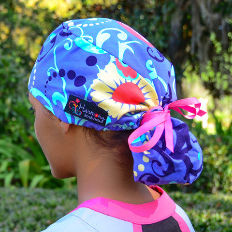 The Harmony Ponytail™ is not only an awesome scrub hat d8fc48f8957