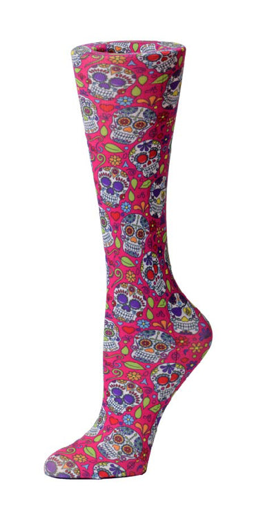 Calavera Sheer Knee High Compression Socks 8-15mmHg