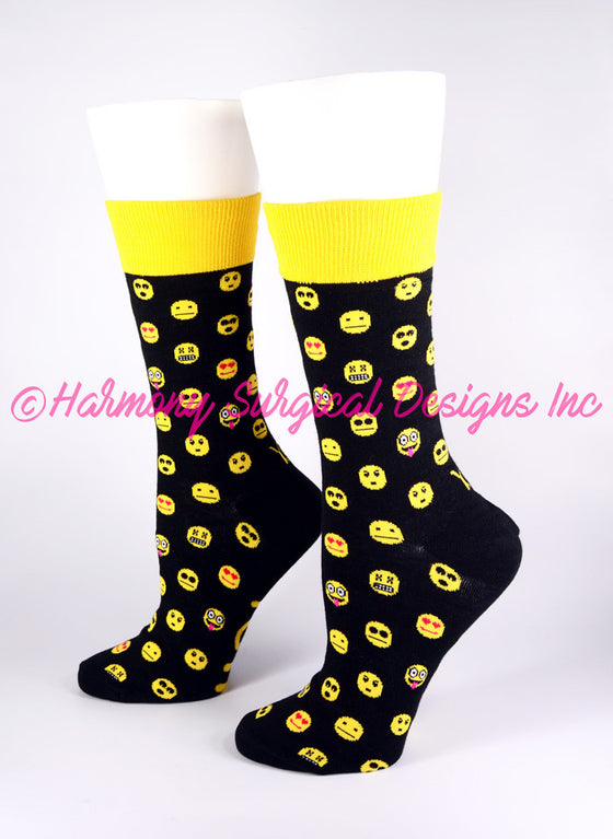 Emoji Crew Socks - Harmony Surgical Designs