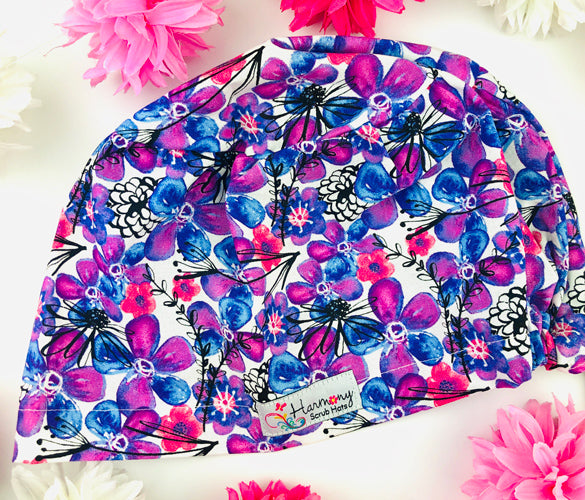 Candy Blooms EURO® Scrub Hat