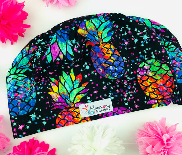 Pineapple Bliss EURO® Scrub Hat
