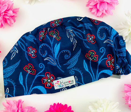 Blooming Nights EURO® Scrub Hat