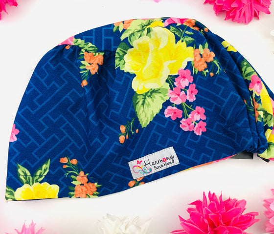 Digital Blooms EURO® Scrub Hat